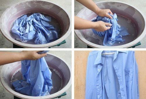 Как нужно правильно стирать рубашки вручную и в стиральной машине?