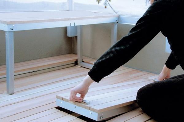 Мебель для балкона – интересные решения
