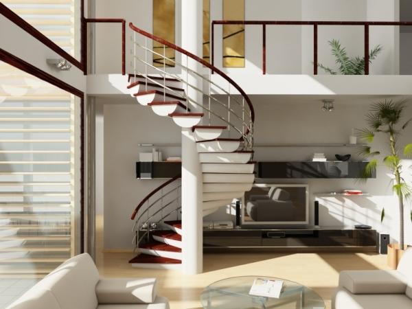 Выбираем лестницу на второй этаж в частном доме
