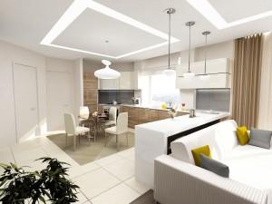 Дизайн кухни-гостиной: удачные решения для современной квартиры