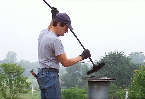 Как почистить от сажи котел,  печку и дымоход